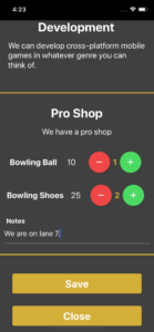 Tournament Planet Contactless Ordering Modal