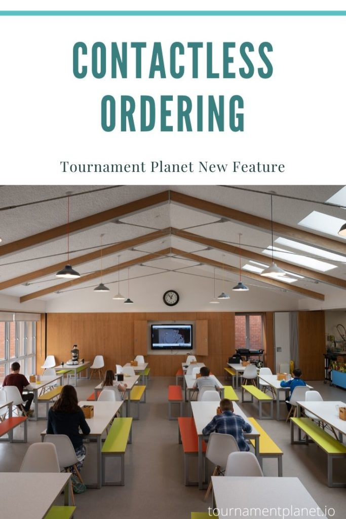 Tournament Planet New Feature - Contactless Ordering