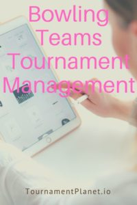 Bowling Teams Tournament Management