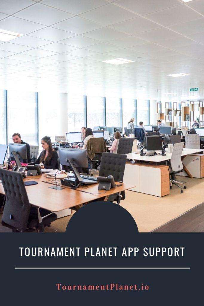Tournament Planet App Support